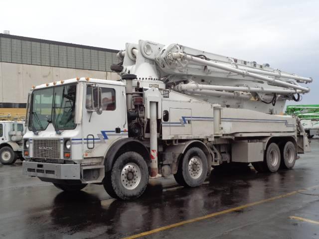 Putzmeister BSF47Z.20H, Boom Pumps, Construction Equipment