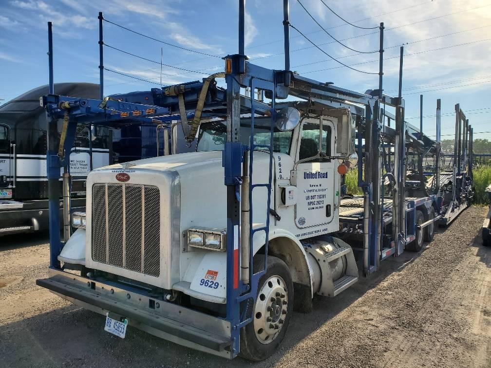 9629 Peterbilt 365, Car Haulers, Trucks and Trailers
