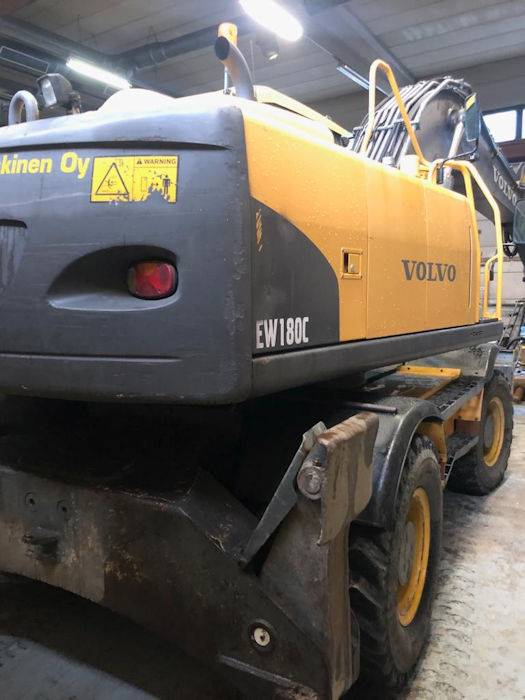 Volvo EW180C, Wheeled Excavators, Construction Equipment