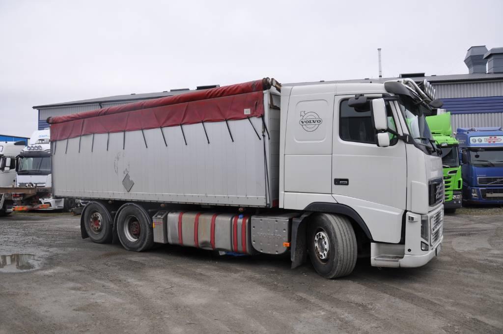 Volvo FH16 610 6X2, Spannmålsbil, Transportfordon