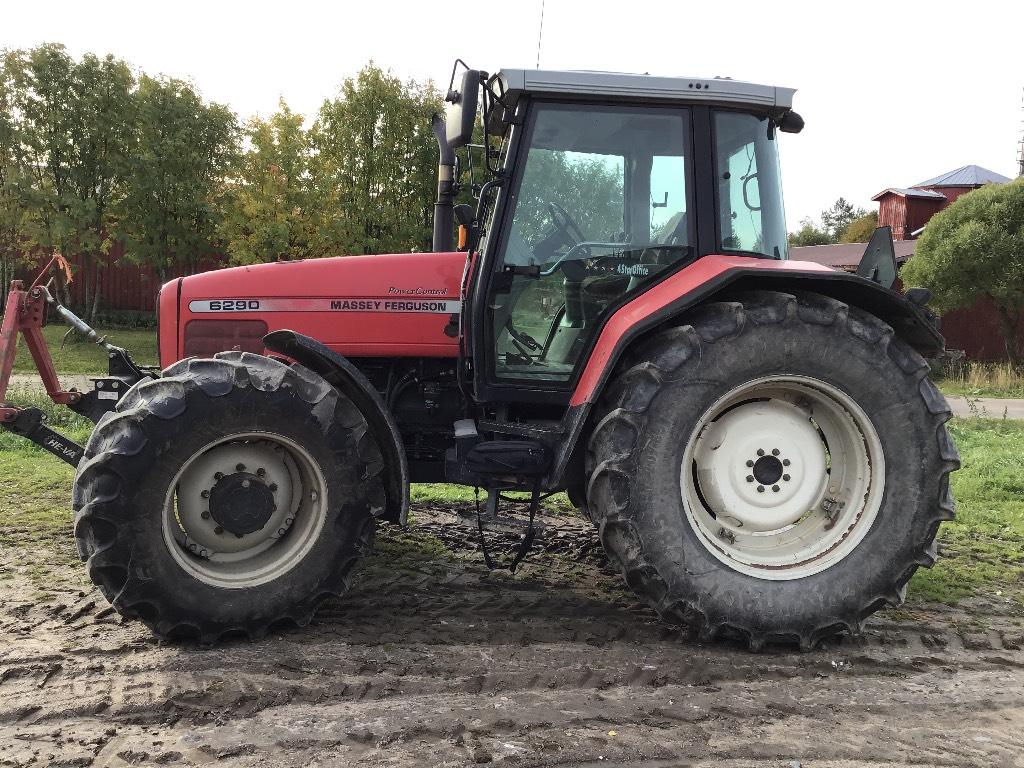 Massey Ferguson 6290, Traktorit, Maatalous