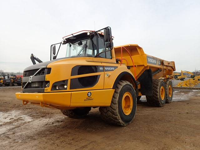 Volvo A25G, Articulated Trucks, Construction Equipment