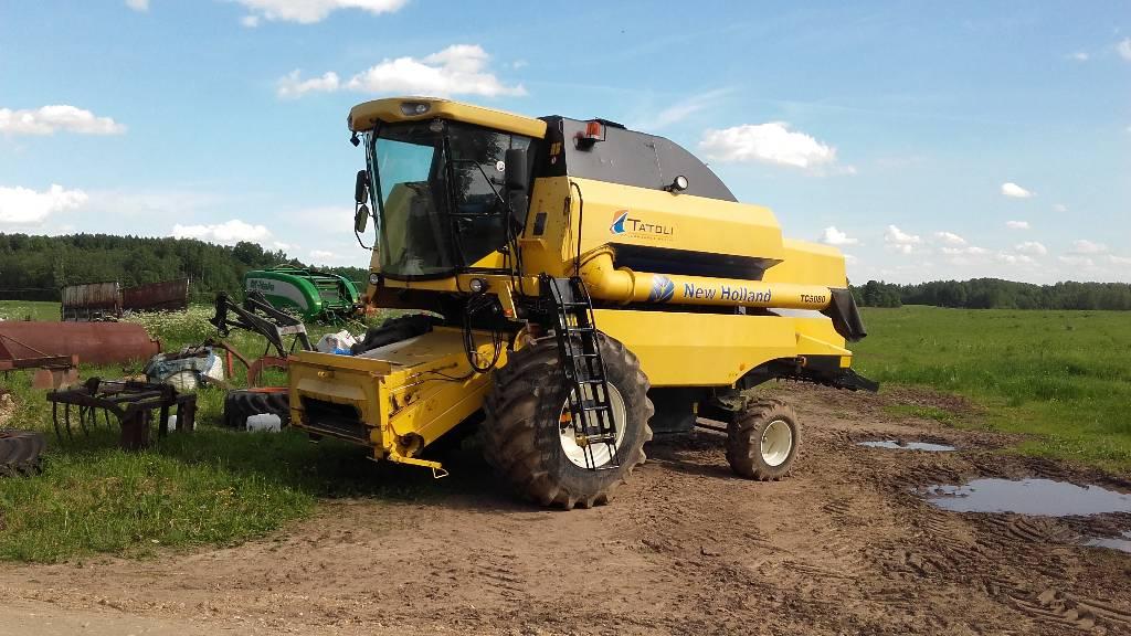 New Holland TC 5080, Kombainid, Põllumajandus
