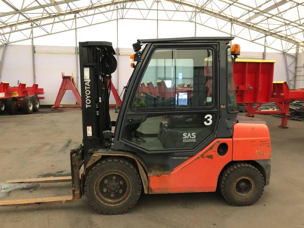 Toyota 02-8FDF30, Dieseltrukit, Materiaalinkäsittely