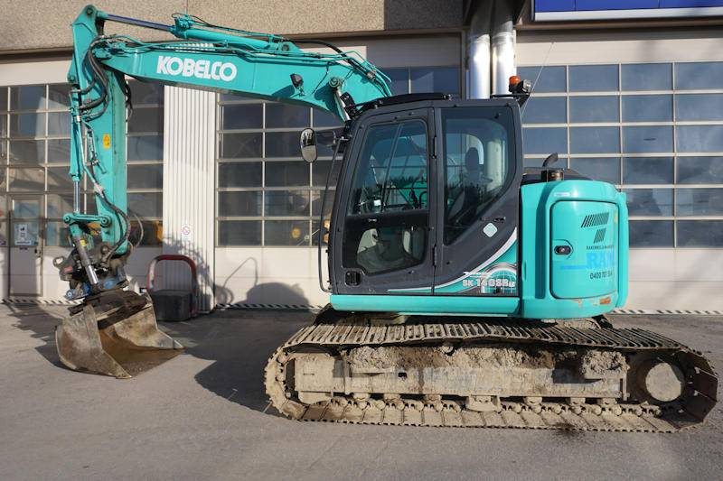 Kobelco SK140SRLC-5, Crawler Excavators, Construction Equipment