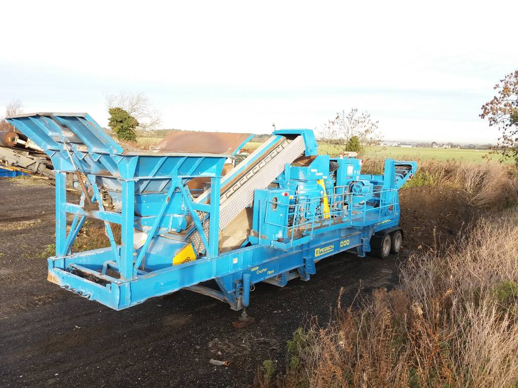 Pegson Automax 1000, Mobile crushers, Construction Equipment