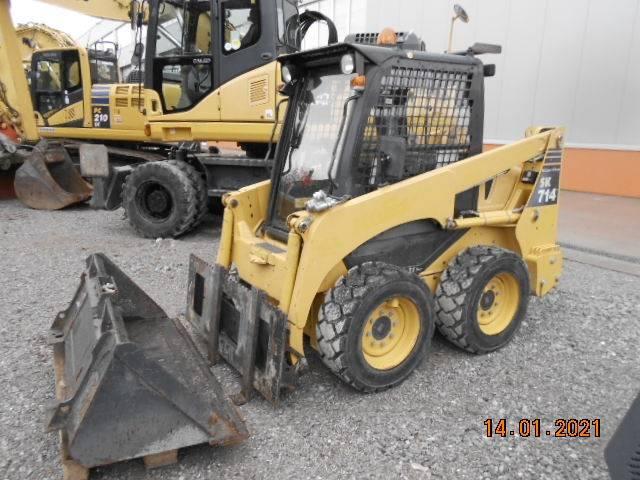 Komatsu SK 714-5, Skid Steer Loaders, Construction Equipment