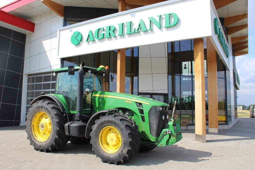 John Deere 8430, Traktorid, Põllumajandus