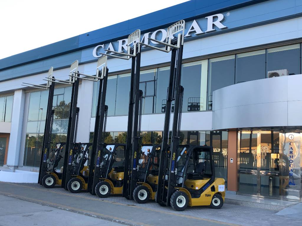 Yale GP25UX, Diesel counterbalance Forklifts, Material Handling