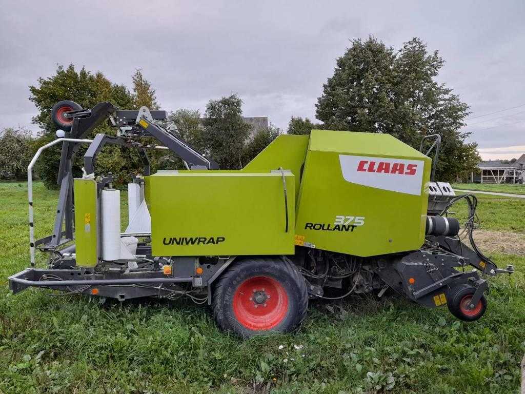 CLAAS Rollant 375 RC Uniwrap, Pyöröpaalaimet, Maatalouskoneet