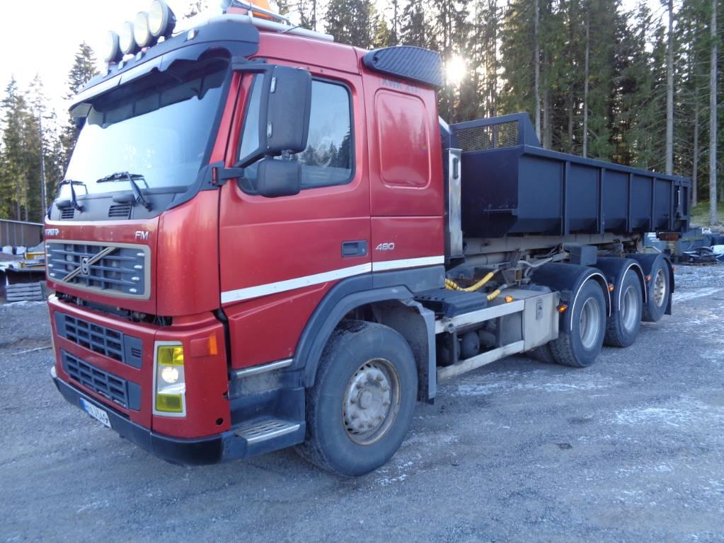 Volvo FM 480 8x4, Koukkulava kuorma-autot, Kuljetuskalusto