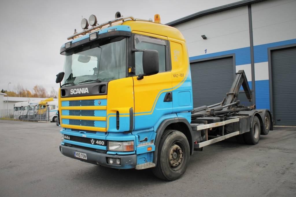 Scania R 144, Koukkulava kuorma-autot, Kuljetuskalusto