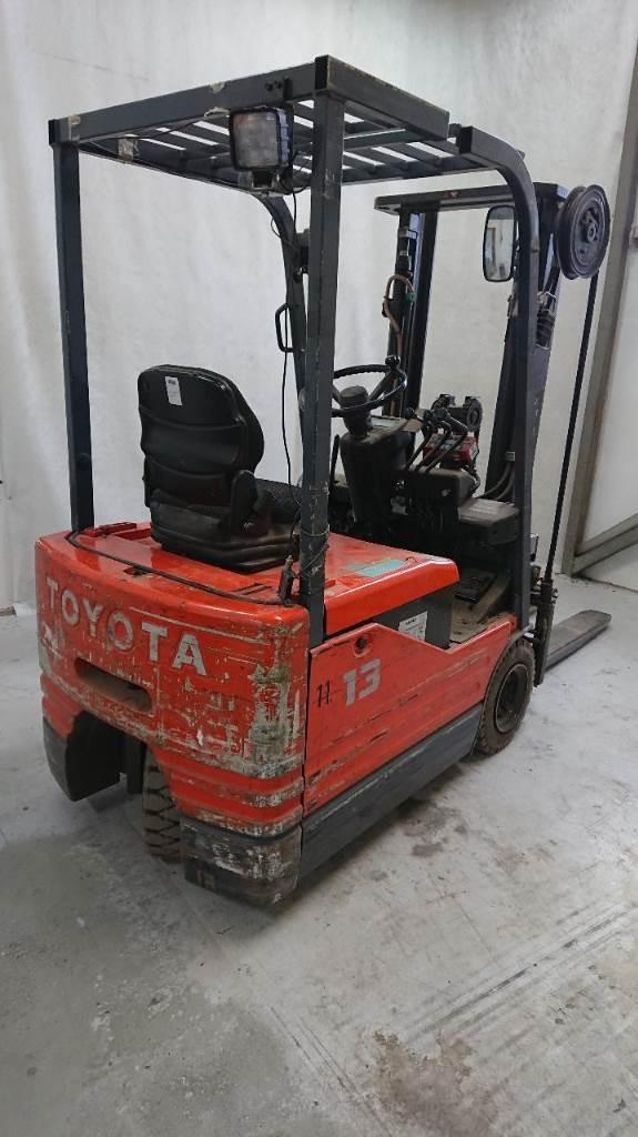 Toyota 5FBE13, Sähkötrukit, Materiaalinkäsittely