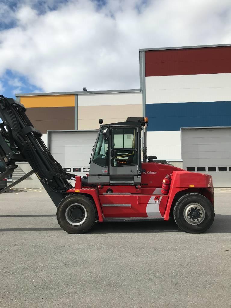 Kalmar DCE 100-12, Dieseltrukit, Materiaalinkäsittely