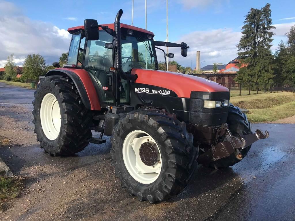New Holland M 135, Traktori, Lauksaimniecība