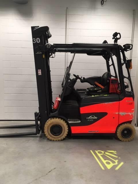 Linde E25RH600/387, Electric forklift trucks, Material Handling