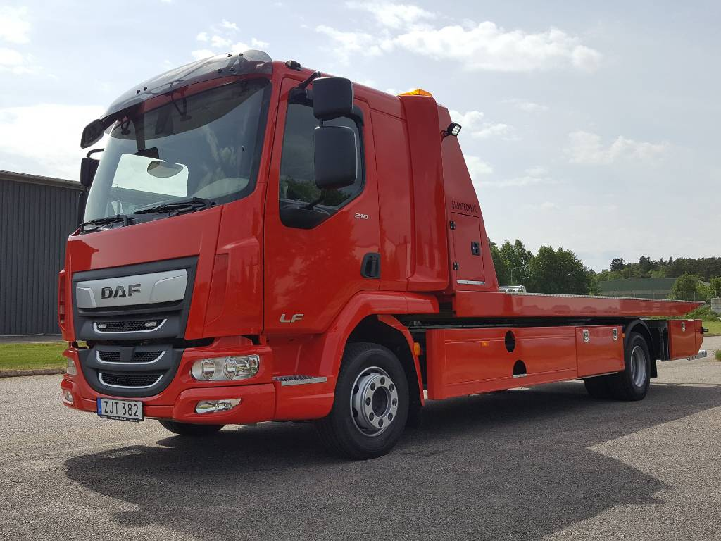 DAF LF FA 12t Bärgningsbil - Nordic Edition, Other Trucks, Trucks and Trailers