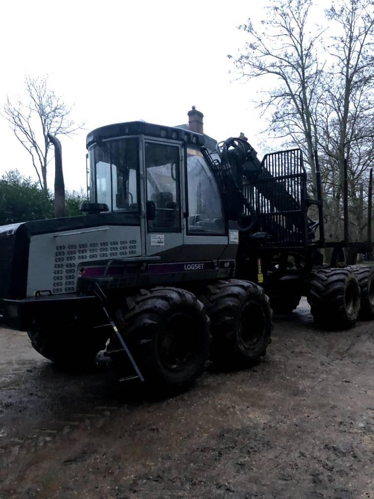 Logset 6F, Forwarder, Forstmaschinen