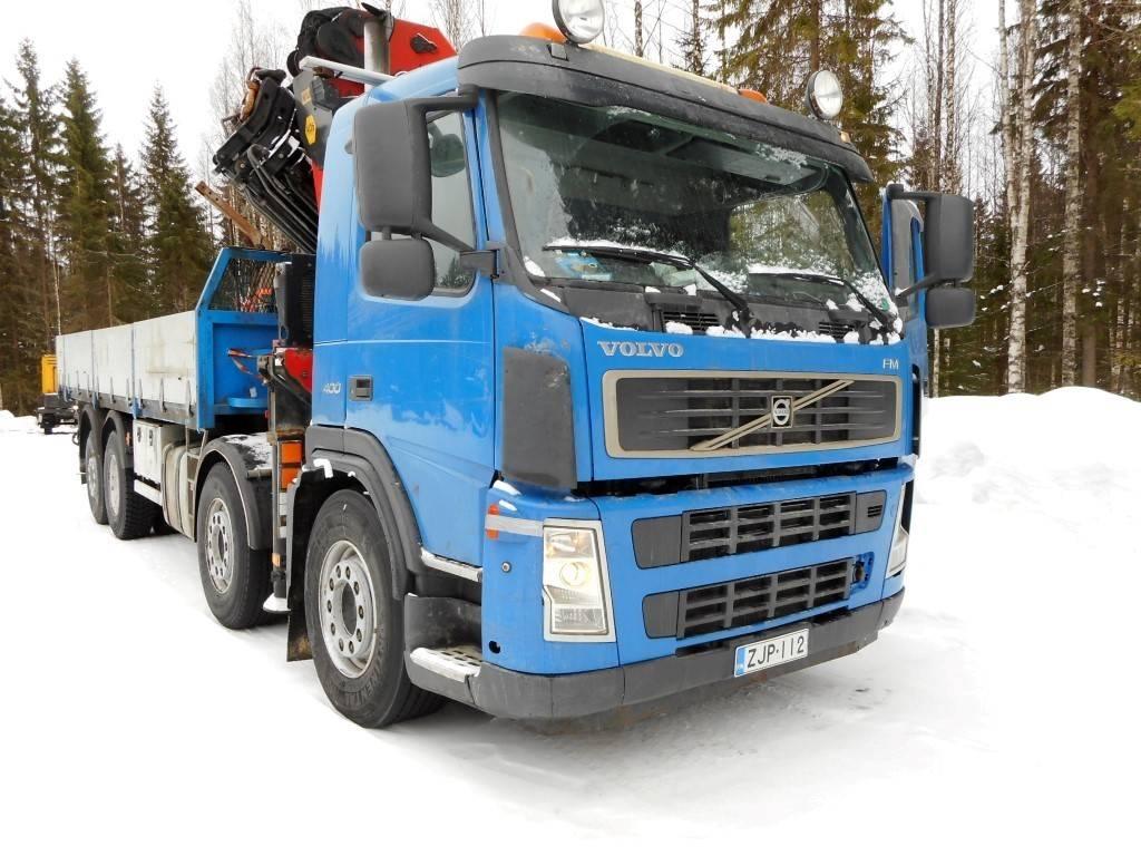 Volvo FM 13, Nosturiautot, Kuljetuskalusto