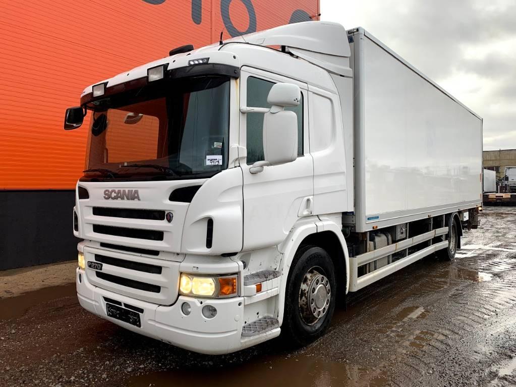 Scania P 270 DB Ethanol, Reefer Trucks, Trucks and Trailers