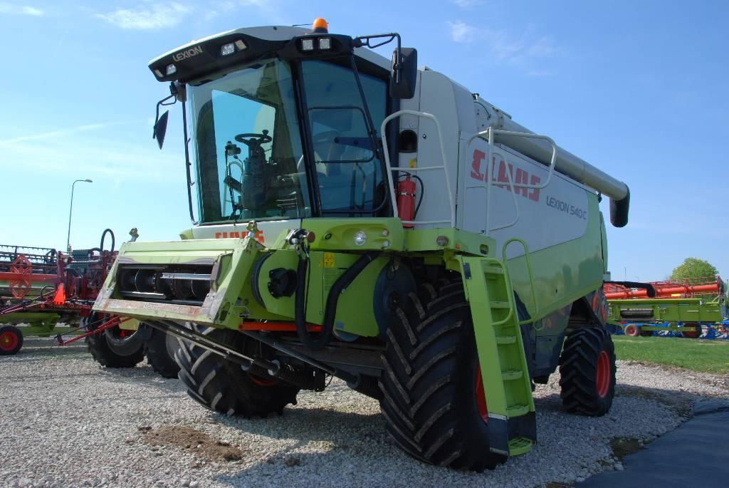CLAAS Lexion 540 C, Kombainid, Põllumajandus