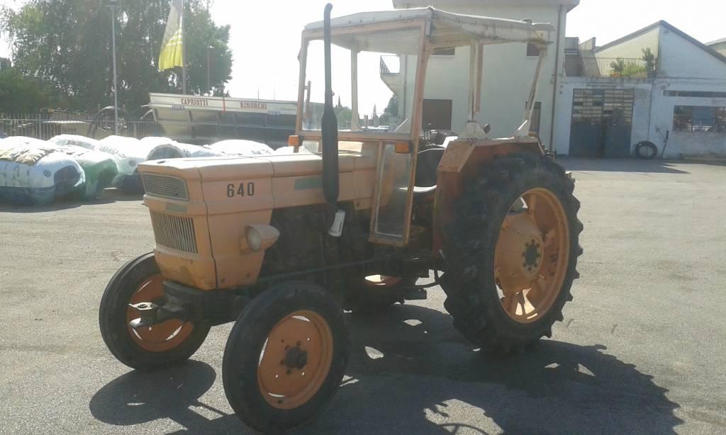 tractores, fiat 640 de segunda mano