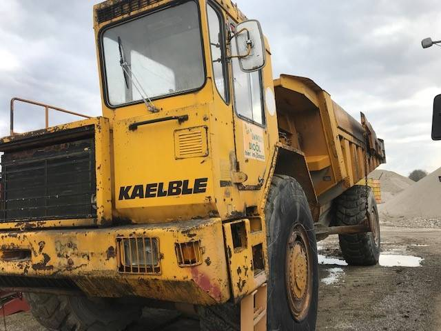 Kaelble KK 50, Articulated Dump Trucks (ADTs), Construction Equipment
