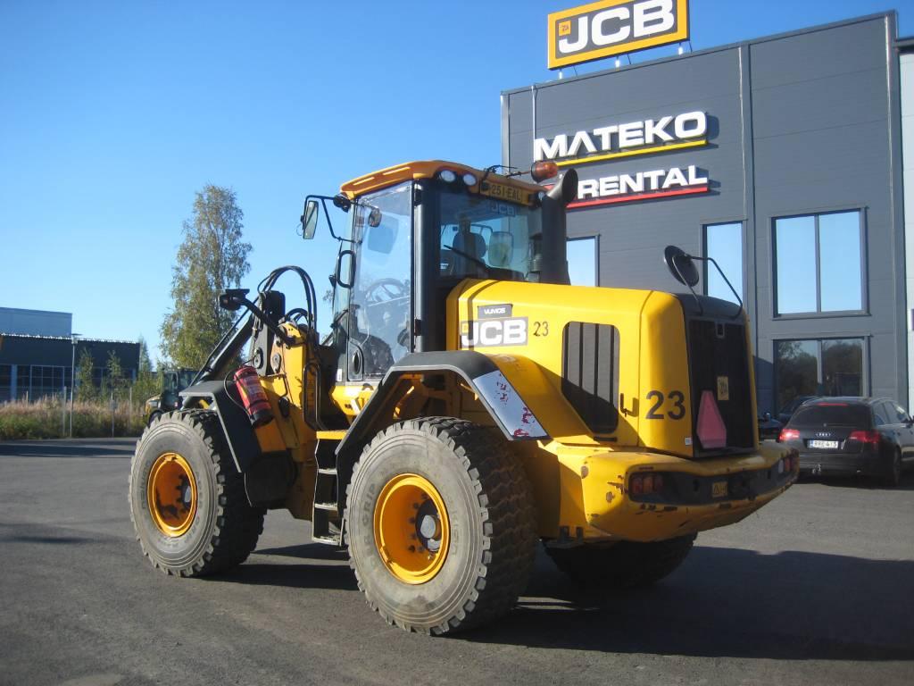 JCB 437 HT, Pyöräkuormaajat, Maarakennus