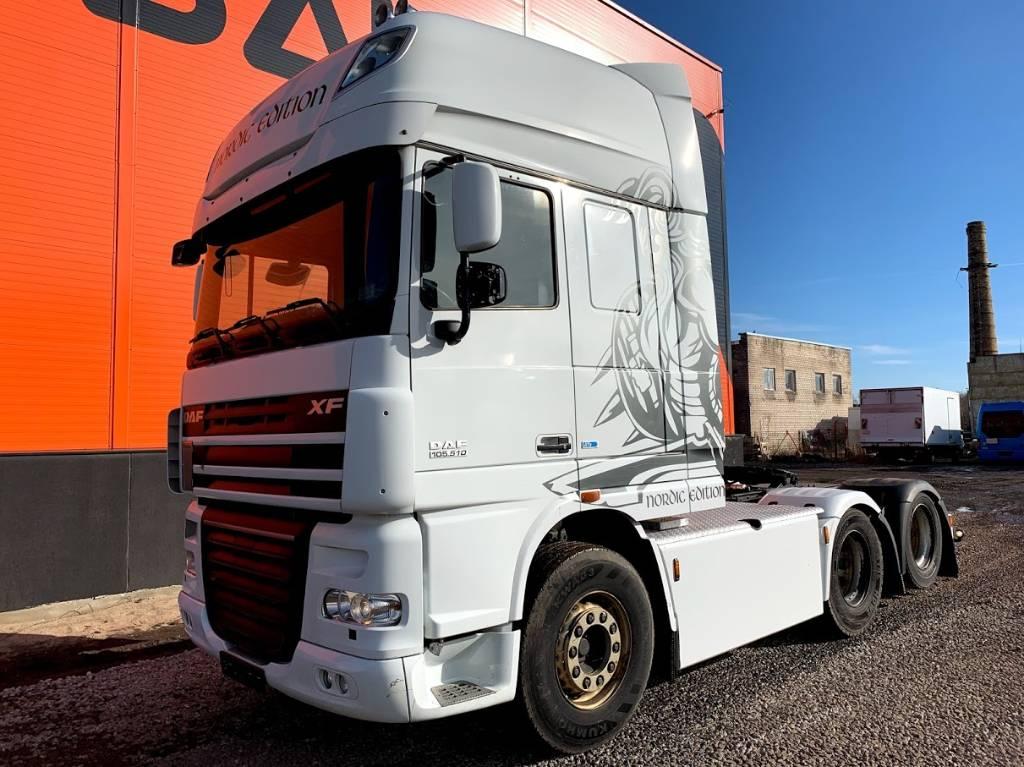 DAF 105.510 Retarder 6x2 Euro5, Conventional Trucks / Tractor Trucks, Trucks and Trailers