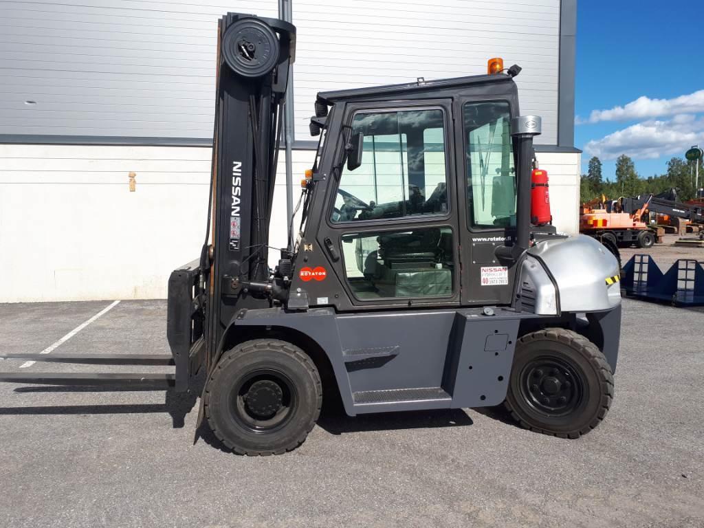 Nissan L1F6F70Y, Dieselmotviktstruckar, Materialhantering