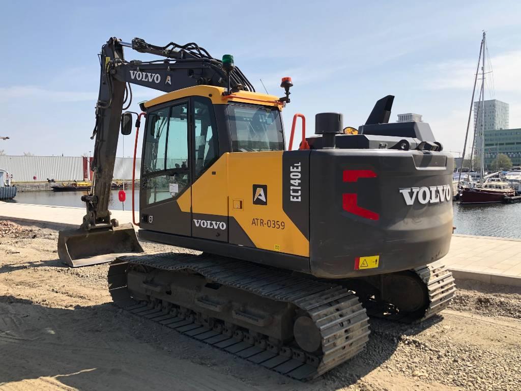 Volvo EC 140 EL, Crawler excavators, Construction