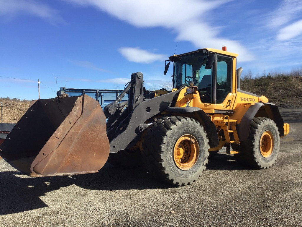 Volvo L 110 F. Selges for kunde, Wheel Loaders, Construction Equipment