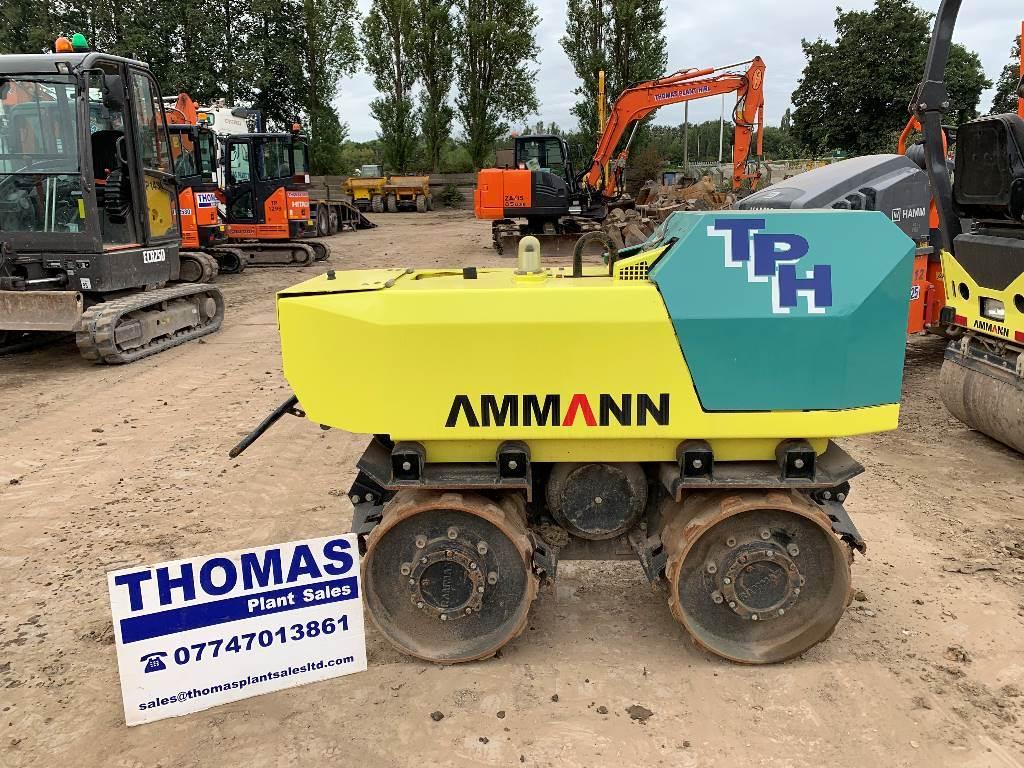 Ammann RW1585, Twin drum rollers, Construction