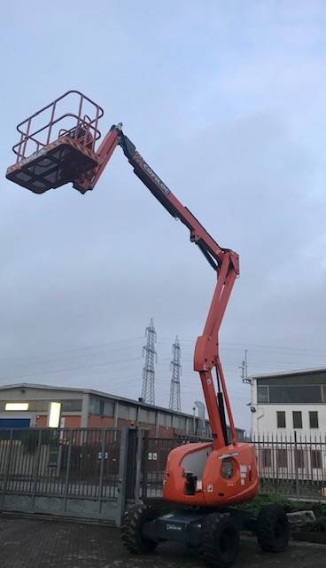 HAULOTTE HA16 SPX, Articulated boom lifts, Construction Equipment