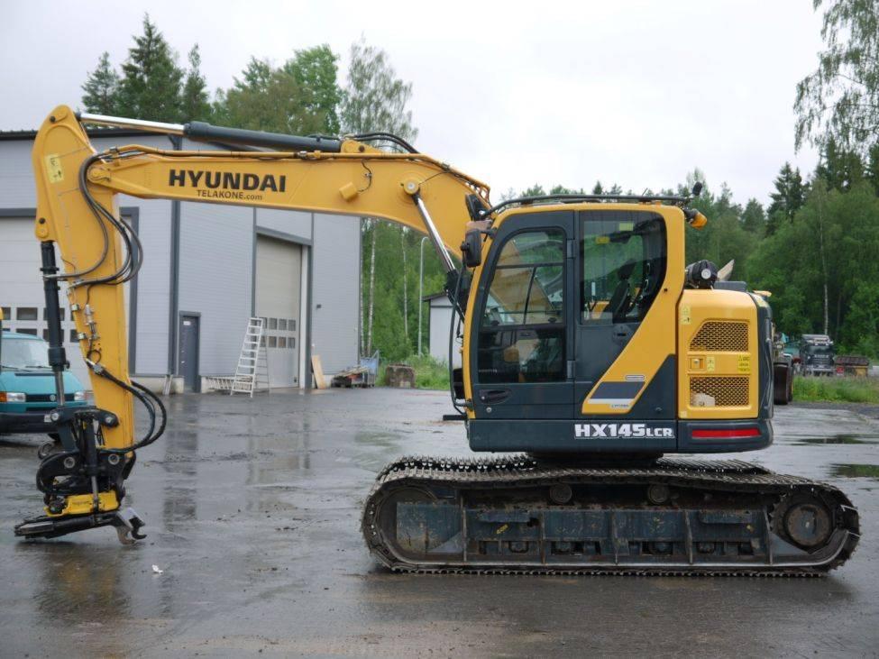 Hyundai HX 145 LCR engcon OULU, Telakaivukoneet, Maarakennus