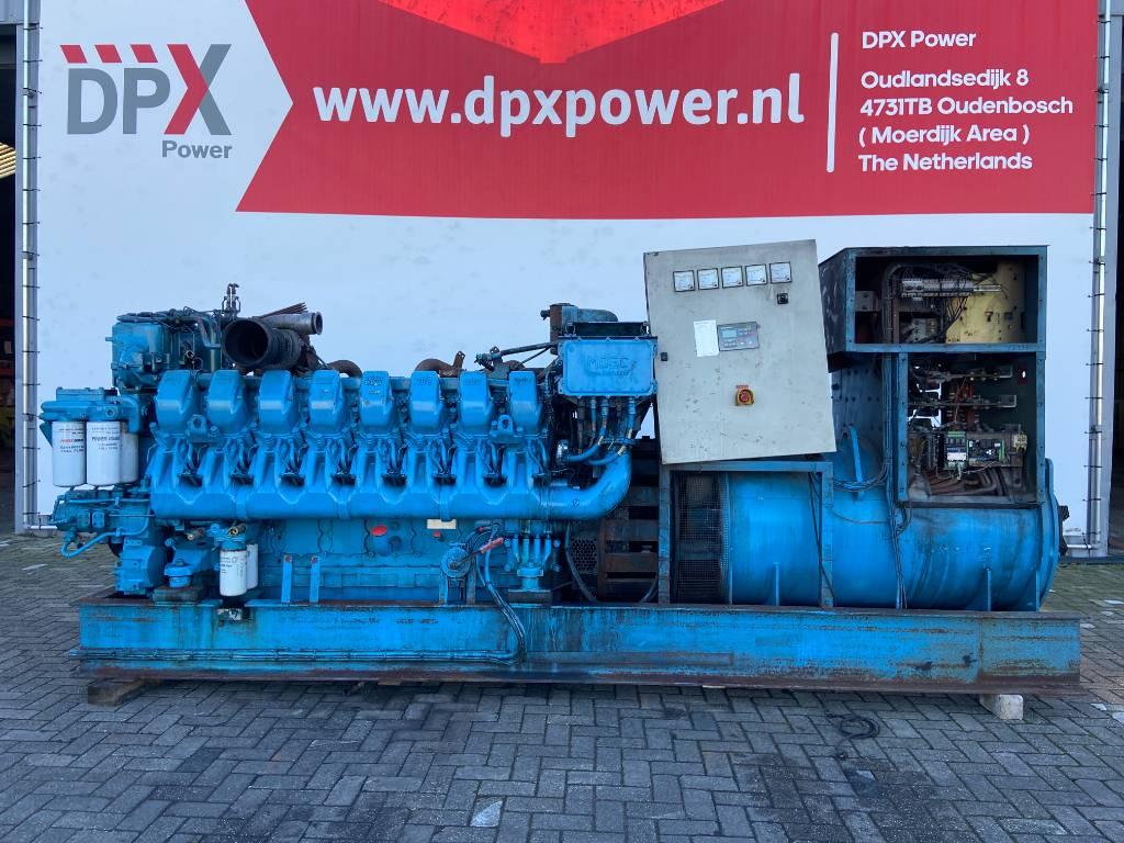 MTU 16V4000 - 2000 kVA (non-runner) - DPX-12335, Diesel generatoren, Bouw