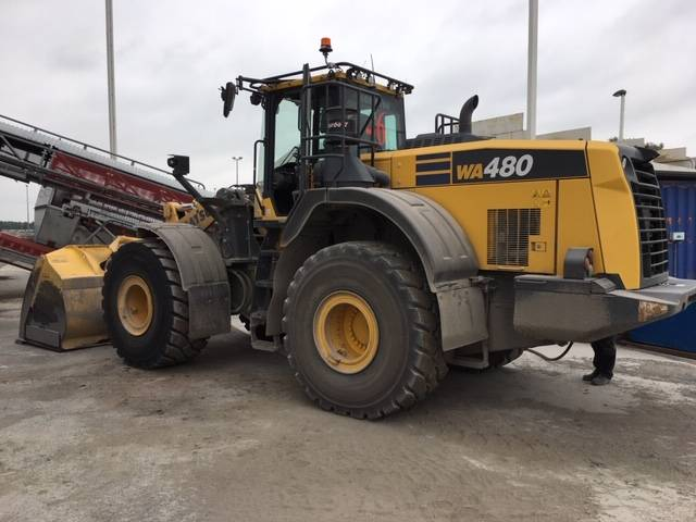Komatsu WA480-8EO, Wheel Loaders, Construction Equipment