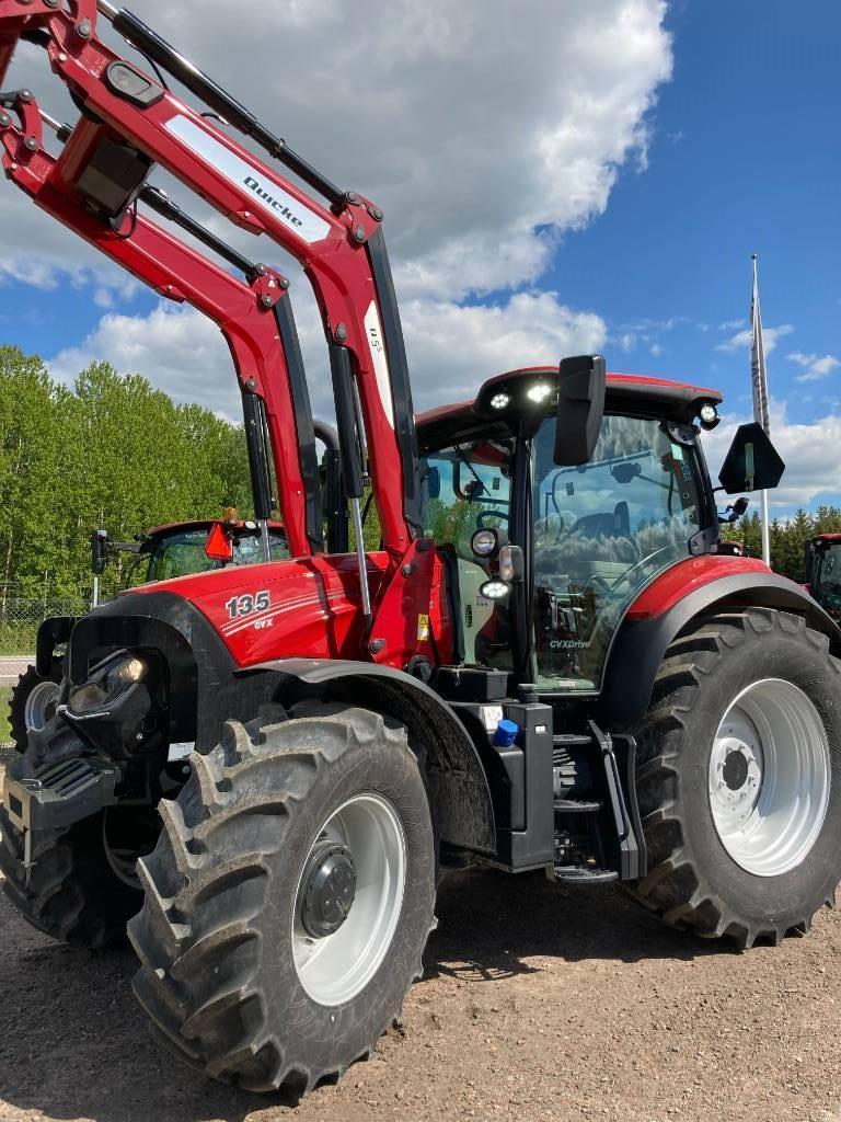 Case IH Maxxum CVX 135,Quicke Q5S Omg Lev!, Traktorer, Lantbruk