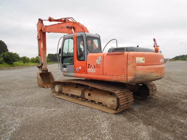 Hitachi ZX200, Crawler excavators, Construction