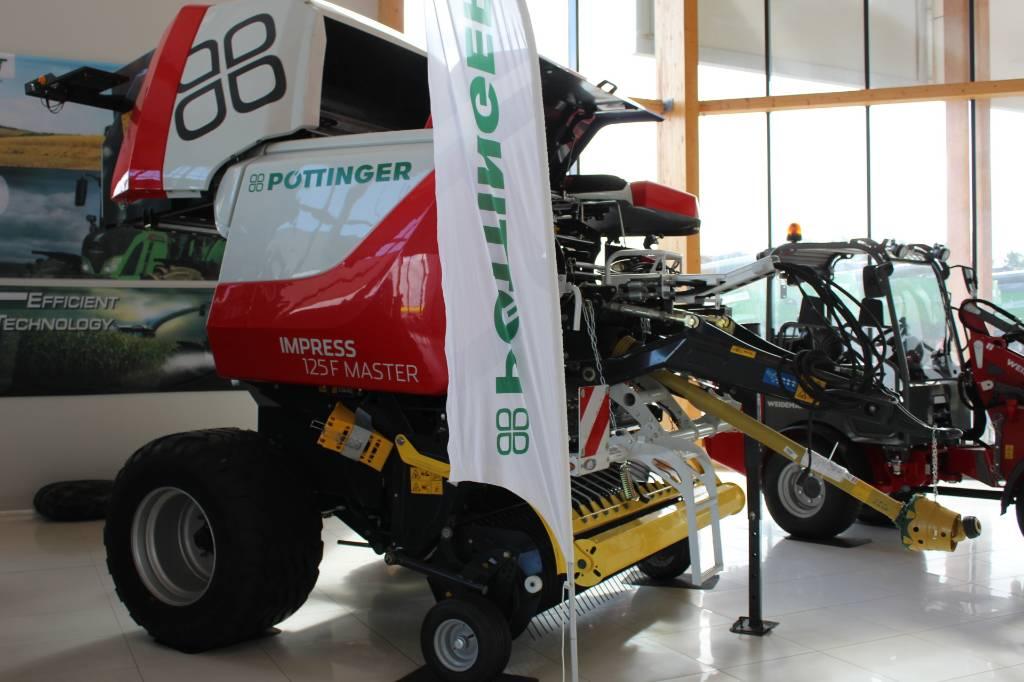 Pöttinger Impress 125 F Master, Ruloonpressid, Põllumajandus
