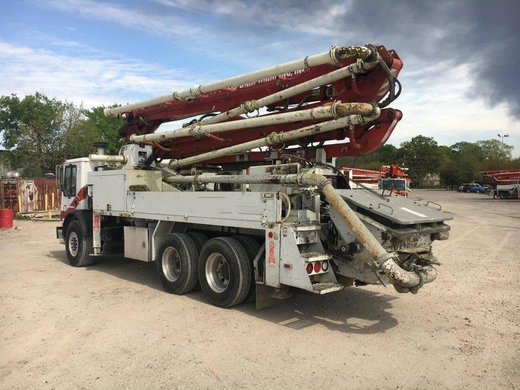 Putzmeister BSF 28Z.12L, Boom Pumps, Construction Equipment