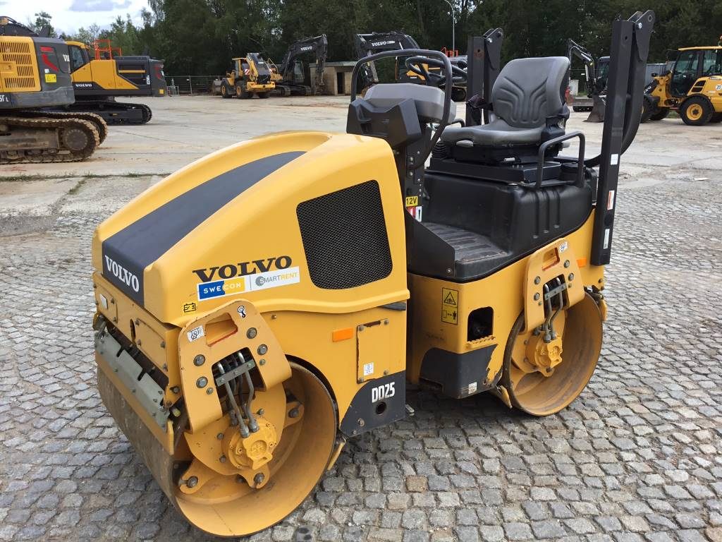 Volvo DD 25, Single drum rollers, Construction Equipment