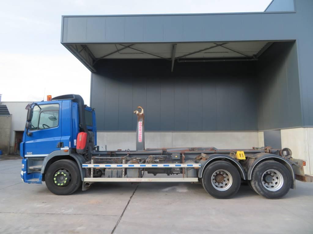 DAF CF85.360, Vrachtwagen met containersysteem, Transport