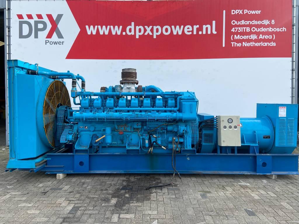 Mitsubishi S16NPTA - 1.000 kVA Generator - DPX-12321, Diesel generatoren, Bouw