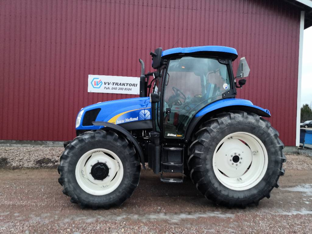 New Holland T 6020 Elite, Traktorit, Maatalous