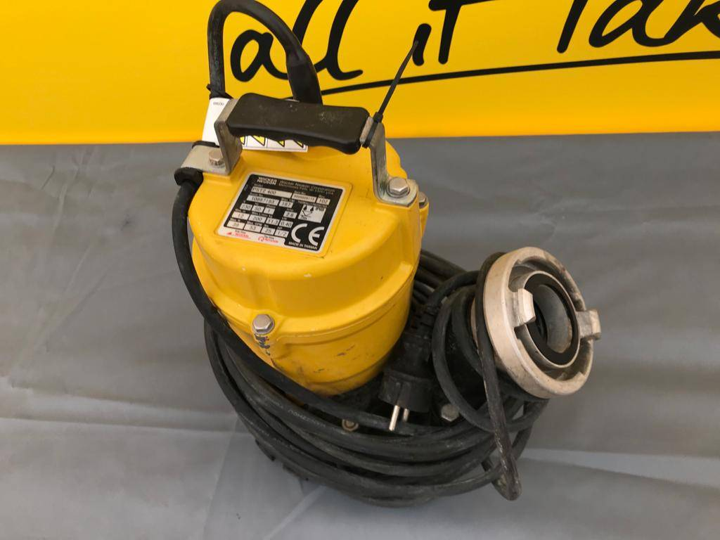 Wacker Neuson PST2 400, Dirty water Pumps, Products