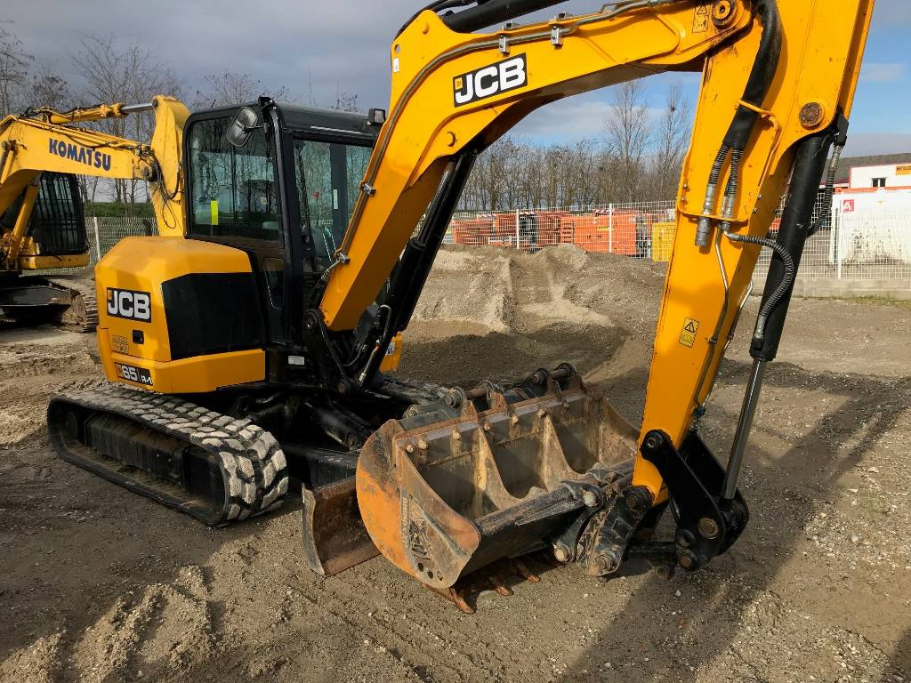 JCB 65 R-1, Mini excavators, Construction Equipment