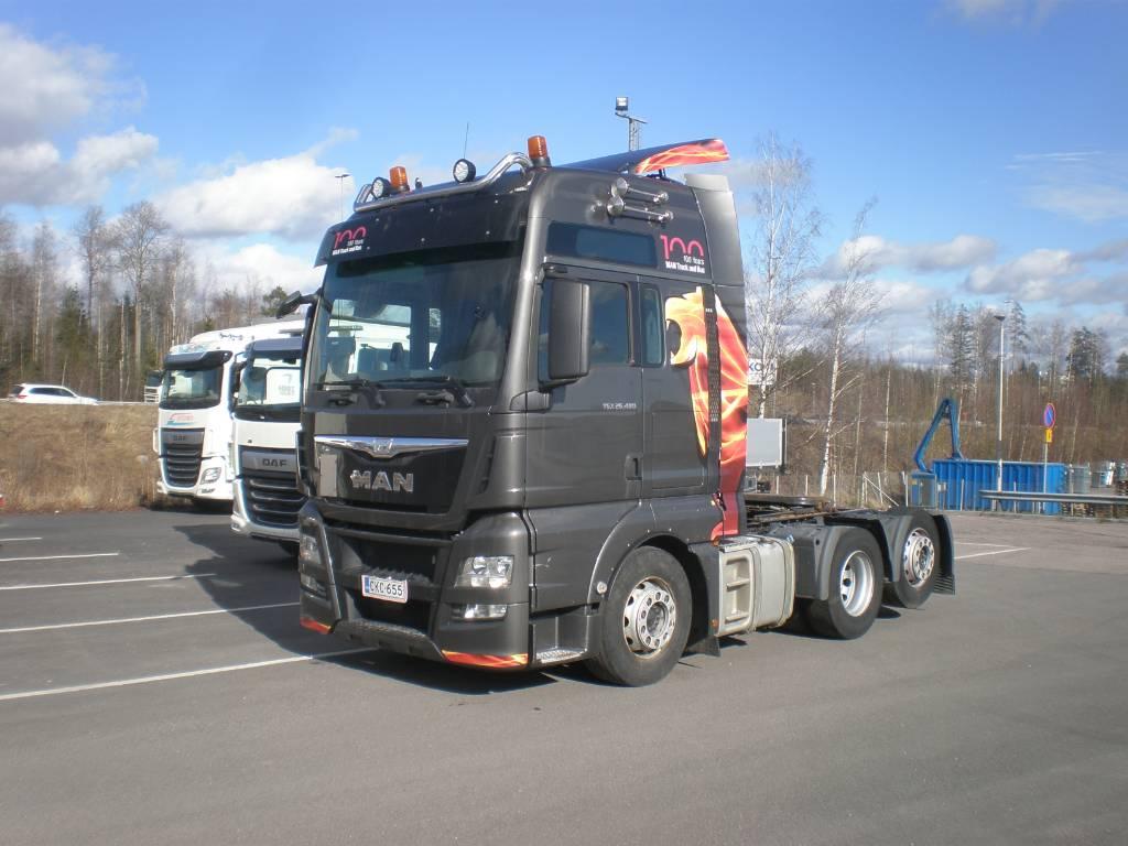 MAN TGX26.480, Conventional Trucks / Tractor Trucks, Trucks and Trailers