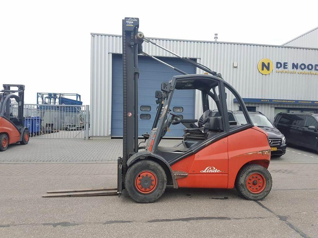 Linde H45D, Diesel heftrucks, Laden en lossen