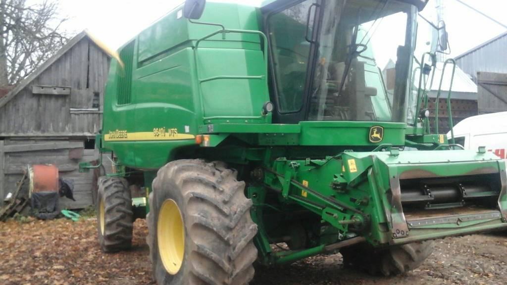 John Deere 9640 WTS, Derliaus nuėmimo kombainai, Žemės ūkis